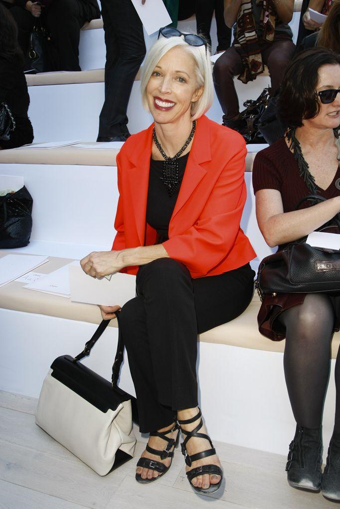 Bergdorf Goodman's Linda Fargo at Chloe S12 RTW