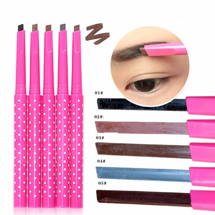 New Women Lady Beauty Makeup Eye liner Waterproof Eyebrow Pencil Liquid Eye Liner  Eye Brow Powder Cosmetic Tool Maquillage