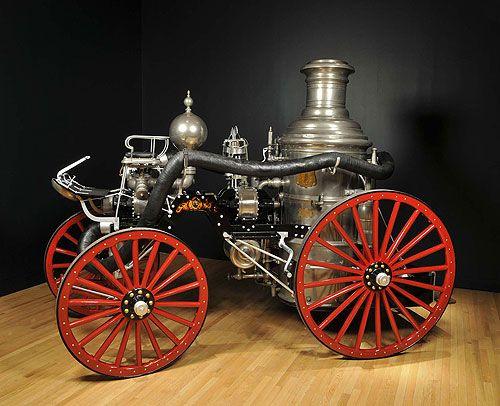 Horse Drawn steam fire engine
