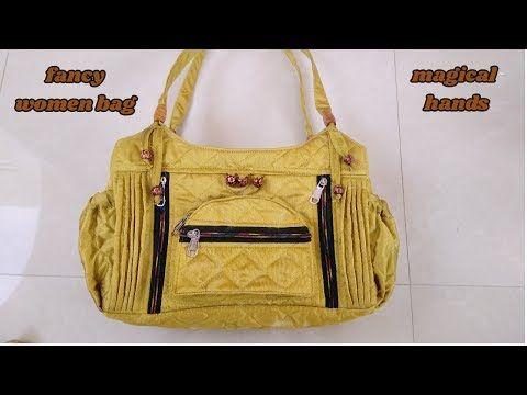 fancy handbag for women make at home diy - YouTube
