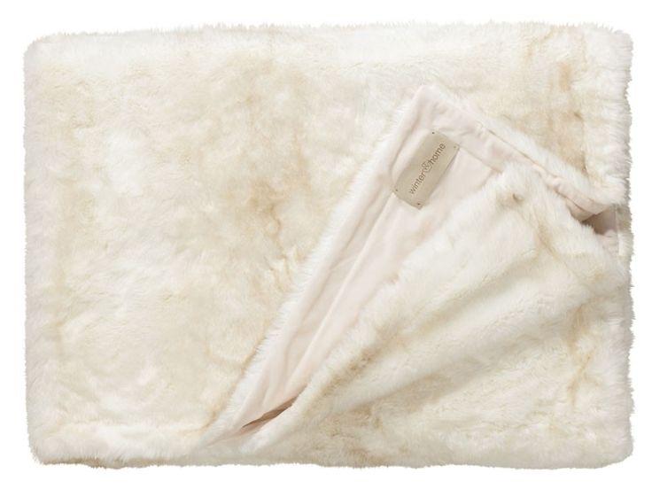 Koc futrzany/narzuta Winter Home Polar Bear 240x240