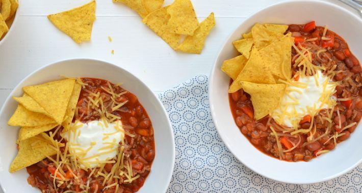 Toch kreeg ik ondanks de warme temperaturen aldaar trek in chili en zodoende maakte ik bij thuiskomst in Nederland een big bowl of chili con carne!