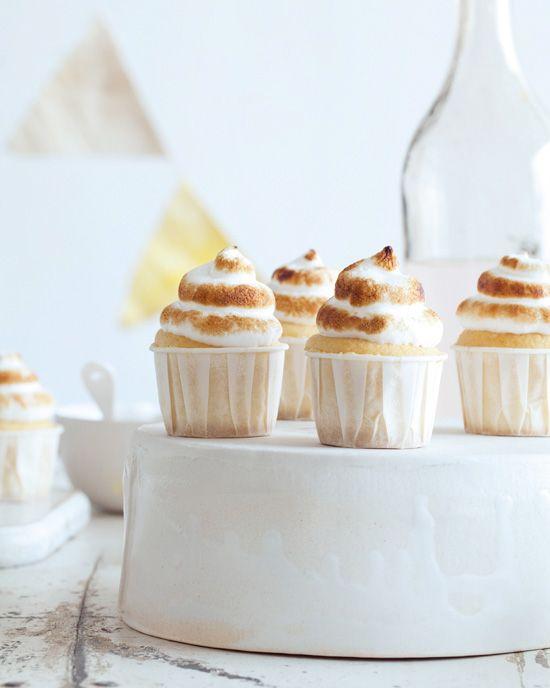 Mini Lemon Meringue Cupcakes - Cupcake Daily Blog - Best Cupcake Recipes .. one happy bite at a time!