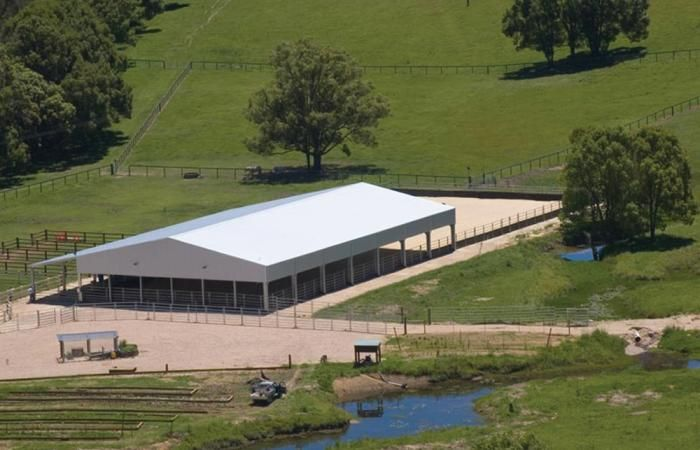 Horse Arena | Custom designed steel riding arenas to suit your needs & site.