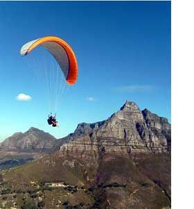 Tandem Paragliding, Cape Town, South Africa