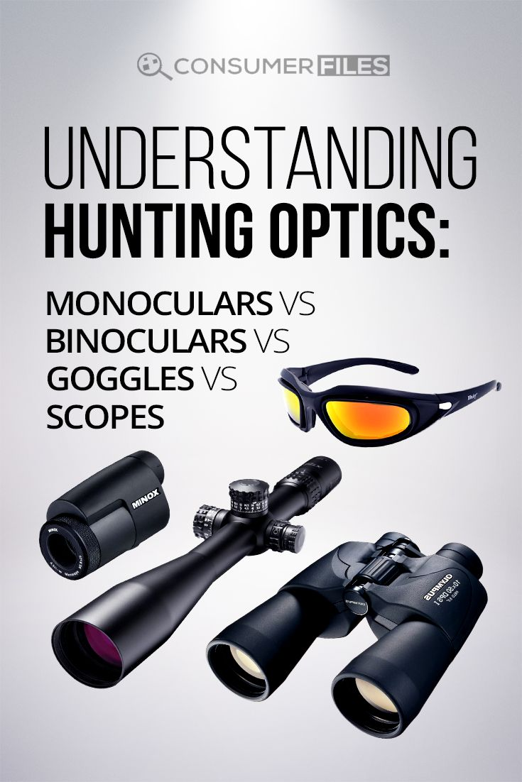 In this article, we're going to break down some pretty common words in the #hunting world by taking a look at the wide range of #huntingoptics available.  via @consumerfiles