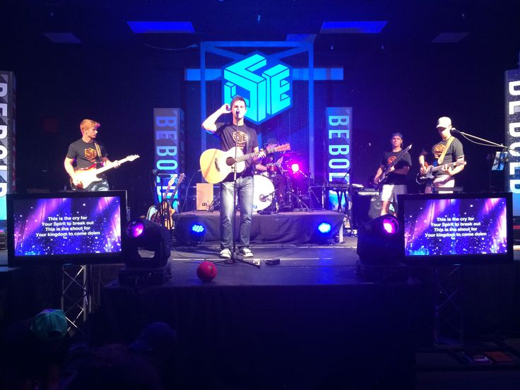 The Brett Perkins band. So glad that they were the worship band at Fuge! Ben, Brett, Daniel, Jordan and Andrew. Look them up they are amazing!