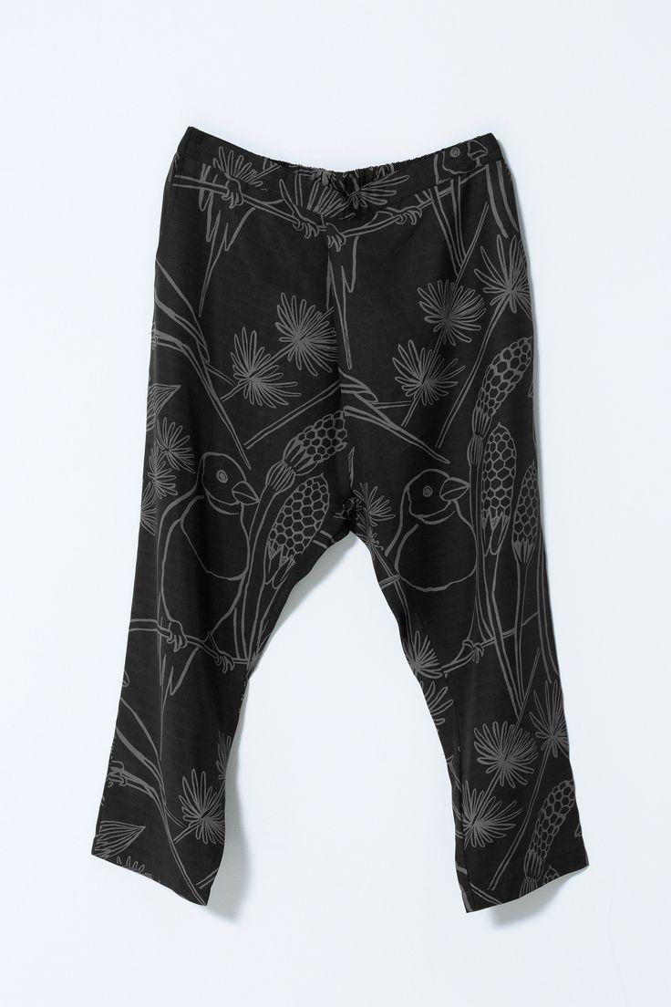 Fold Pants - Gould Finch - Nancybird