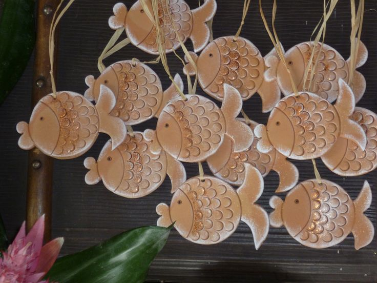 keramicke rybky #  ceramic fishs