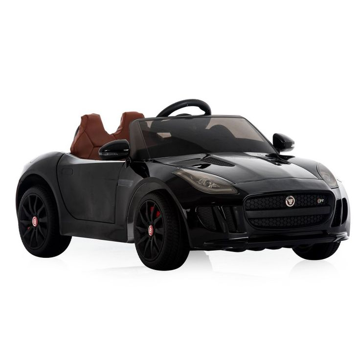 Best Ride On Cars Jaguar F Type Battery Powered Riding Toy Black - JAGUAR F TYPE - 12V BLACK ( CAR PAINT)