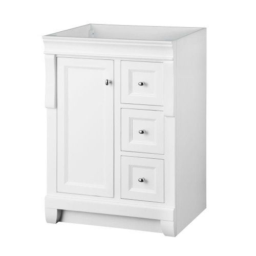 Foremost Nawa2421d Naples 24 Inch Width X 21 Depth Vanity White Foremost