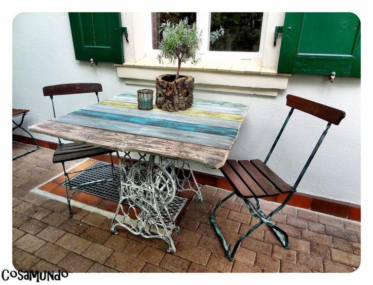 """Couchtische - Shabby Vintage Design Tisch """" SaiNT MaXiMe"""" - ein Designerstück von CoSaMuNDo bei DaWanda"""