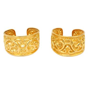 A Pair of Gold Cuff Bracelets, by Ilias Lalaounis