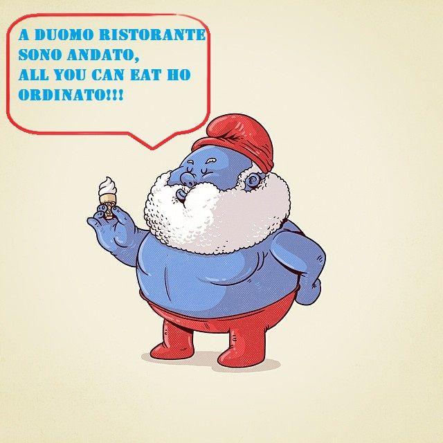 GRANDE Puffo di nome e di fatto, perchè ha deciso di mangiare a Duomo Ristorante, al NOSTRO UNICO ALL YOU CAN EAT 100% ITALIANO!!! DA VENERDI' 19 FEBBRAIO, SIA A PRANZO CHE A CENA, ANCHE VOI POTRETE GUSTARE DI QUESTO STREPITOSO MENU!!! I NOSTRI MIGLIORI PIATTI SENZA LIMITI!! TORNERETE A CASA SAZI DI CIBO MA NON DI DUOMO RISTORANTE!! #food #foodie #allyoucaneat #waitingforyou #lunch #dinner