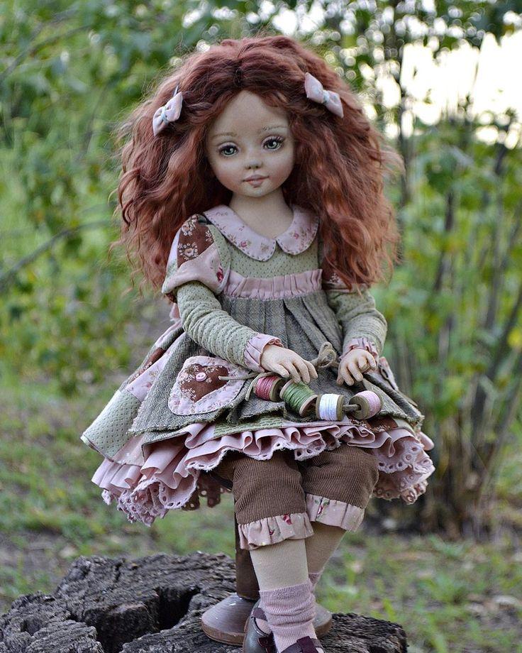 куклы авторские работы мастеров фото домашняя обувь рисунком