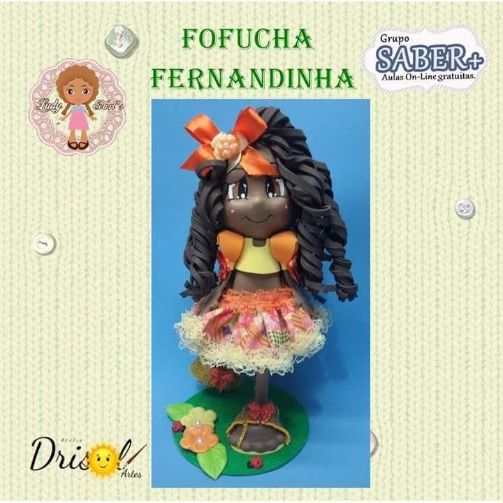Vídeo Aula-Fofucha Fernandinha/Ludy Evart's