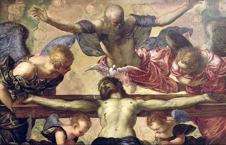 The Trinity by Tintoretto ☜♥☞