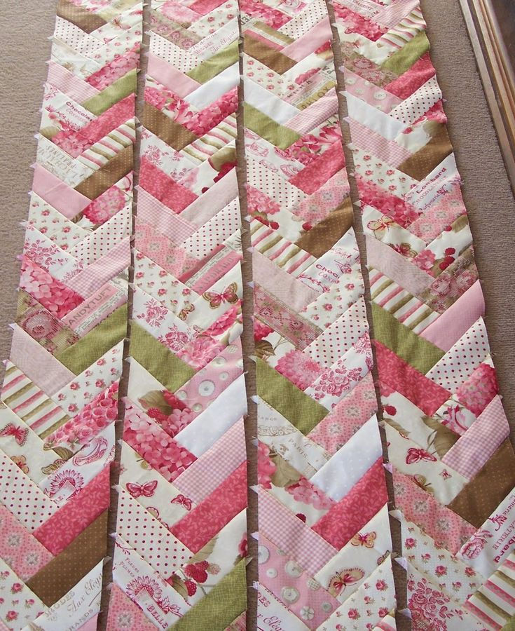 willow jellyroll\ | jelly roll which this pattern is designed for and added in a few ...