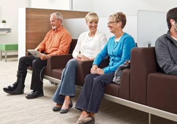Nurture Regard for waiting areas | #furniture #healthcare #office