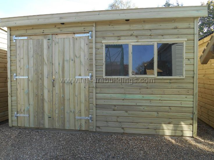 12ft x 8ft Super Pent Workshop