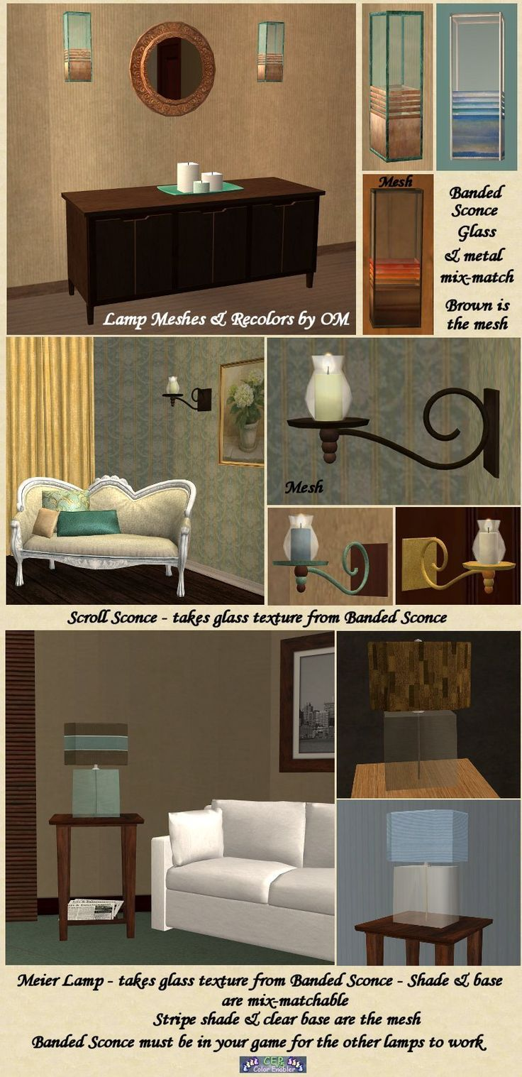 Lamps. Victorian GothLiving RoomsLampsSims 2BulbsVictorian ... Part 92