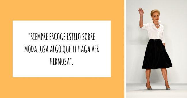 10 frases inspiradoras de Carolina Herrera que toda mujer que le guste la MODA debe conocer - IMujer