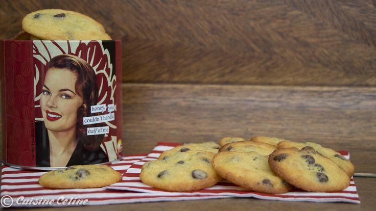 Cuisine Céline: Recept: Amerikaanse koekjes (American cookies)