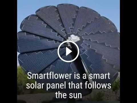Energia Solar Residencial - Como fazer um sistema de energia solar caseiro?                                           Essa é literalmente um Girassol com placas de energia fotovoltáica projetado pela smartflower solar, empresa dos Estados Unidos. É a tecnologia aliada as energias renováveis. Mas e que tal ter seu próprio sistema de energia solar caseiro? Aprenda a... construindo painel fotovoltaico, construindo painel solar, construindo painel solar caseiro dicas célu