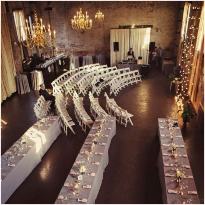 Beautiful Indoor Wedding Ceremony: 17 Beautiful Wedding Decorating Ideas