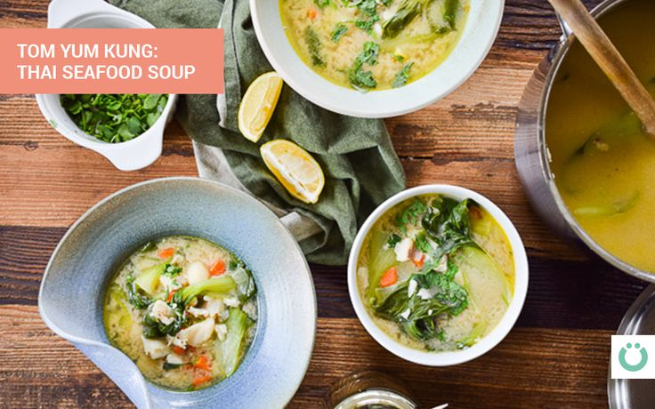 Tom Yum Kung (Thai Seafood Soup) Under 10 Carbs