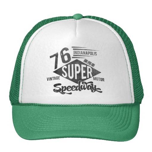 Indianapolis Super Speedway Mesh Hat