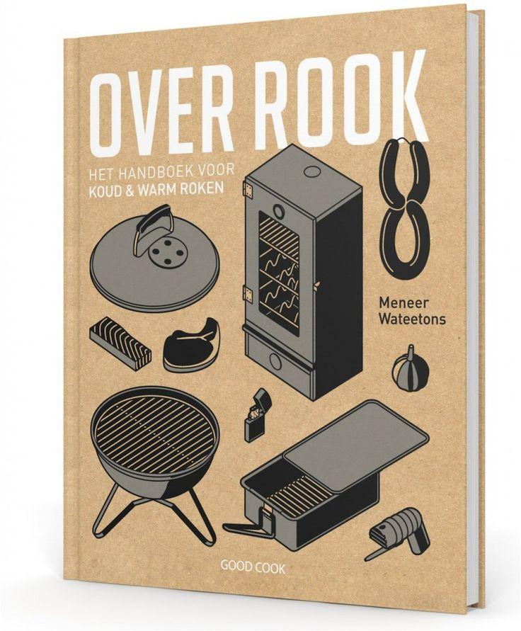 Kookboek van de maand: Over rook. Het handboek voor koud en warm roken