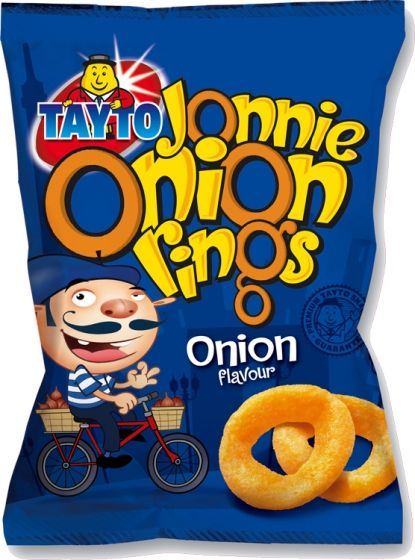 Food Ireland Tayto Onion Rings 28g (1oz) X 48