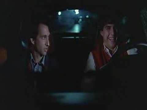 Risky Business (1983) -- Joel and Barry take Joel's dad's Porsche 928 for a joyride. * Movie release: August 5, 1983 (USA)