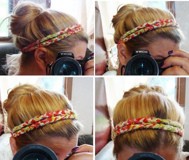 aimee, this is how your hair looked!: Head Bands, Cute Headbands, Fabrics Scrap, Diy Headbands, Braided Headbands, Braids Headbands Tutorials, Hair, Fabrics Headbands, Braided Headband Tutorial