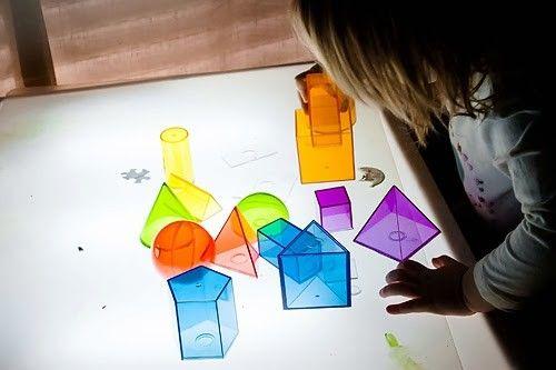 Geometría en nuestra mesa de luz - Tigriteando