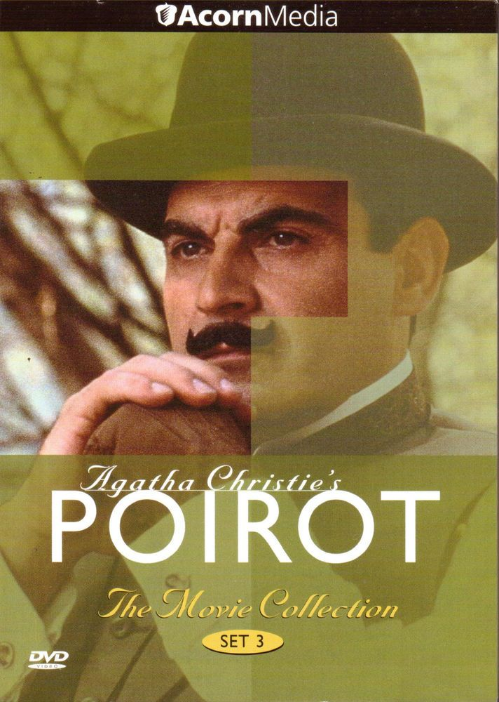 Agatha Christie's Poirot: The Movie Collection Set 3 DVD Box/2004 Acorn Media