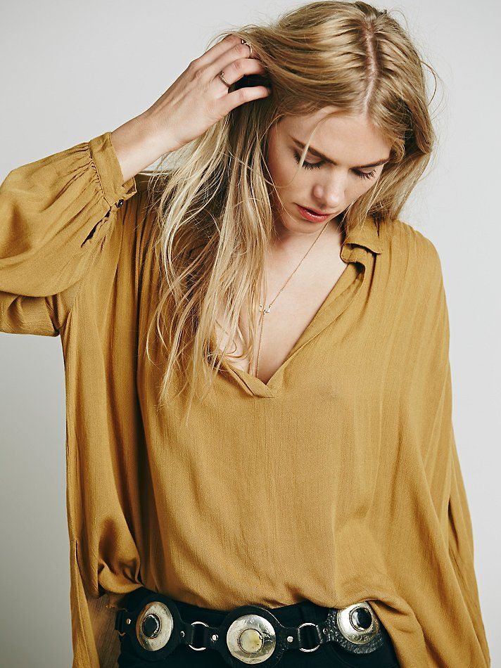 Free People FP ONE Hallowed Hill Pullover at Free People Clothing Boutique