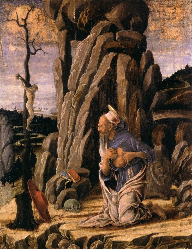 Marco Zoppo - The Penitent St Jerome.