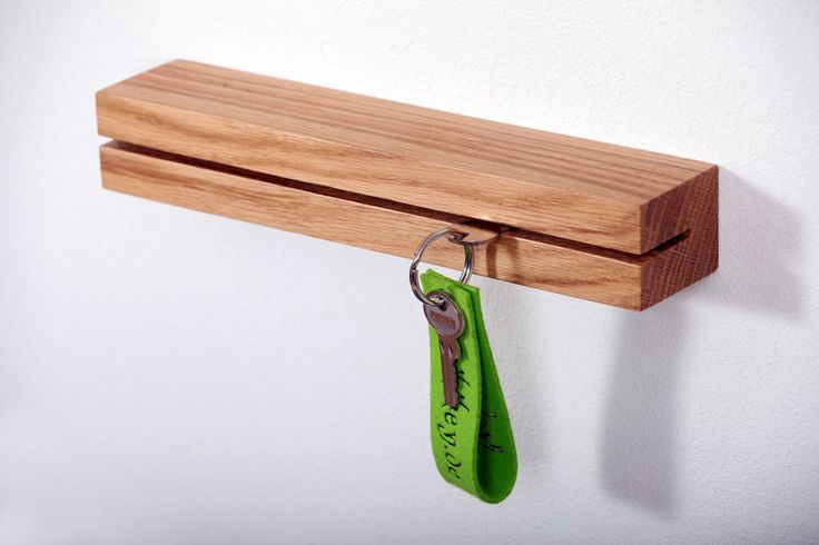 key holders oak  http://de.dawanda.com/shop/waikikey