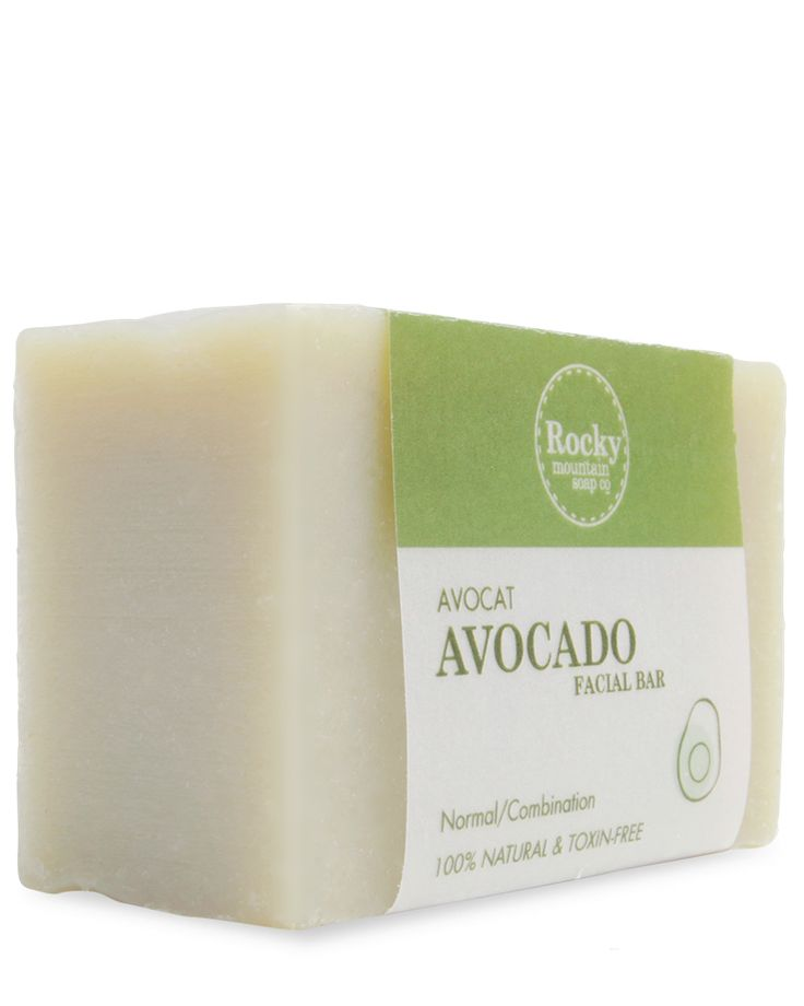 Avocado Facial Soap - Protein Rich Face Soap, Natural Soap Products