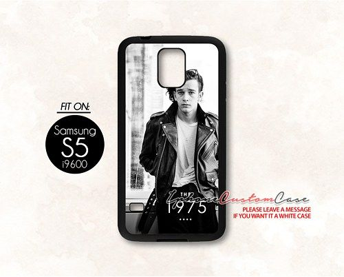 mat healy the 1975 band for Samsung S5 Black case