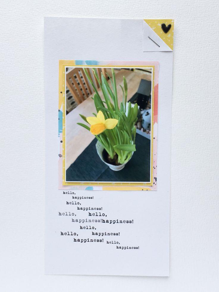 Plant hybrid scrapbook layout - Sahin Designs
