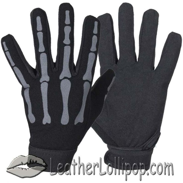Bikers, just for you! Now available in our store: Mechanics Gloves ... Check it out here! http://leatherlollipop.com/products/mechanics-gloves-with-grey-skeleton-hands-sku-ll-gl2045-grey-dl?utm_campaign=social_autopilot&utm_source=pin&utm_medium=pin Free shipping.
