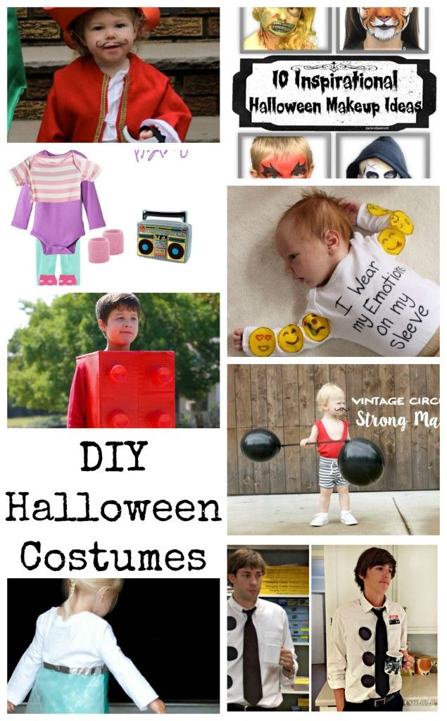 DIY Halloween Costume Ideas from Nap-Time Creations #TriplePFeatures