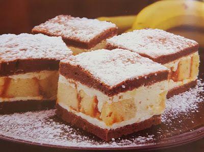Receptek, és hasznos cikkek oldala: Banánkrémes piskótacsoda