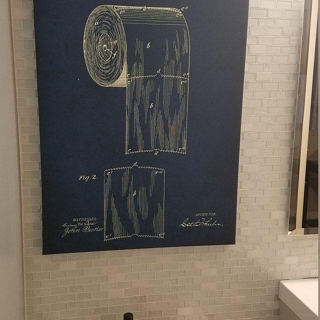 Toilet Paper Art Bathroom Art Bathroom Wall Decor Bathroom Etsy Bathroom Art Toilet Paper Art Bathroom Wall Decor