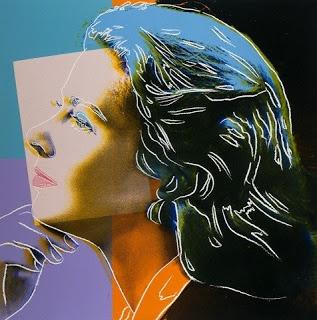 Ingrid Bergman   par Andy Wharol