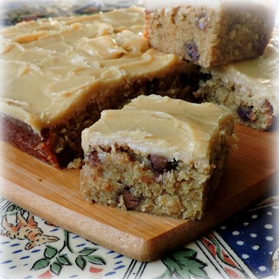 Chocolate Chip Banana Brownies | The English Kitchen | Bloglovin'