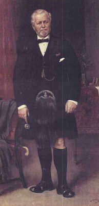 Portrait of John Brown  commissioned by Queen Victoria. Queen Victoria's very good friend and servant.